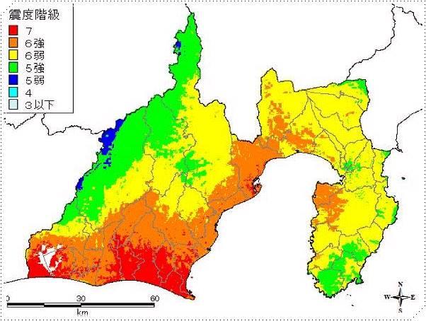 南海トラフ地震の被害想定!静岡県への影響や津波の高さは ...