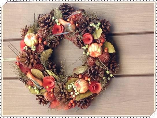 クリスマスリースの意味や由来!なぜドアに飾るようになったのか